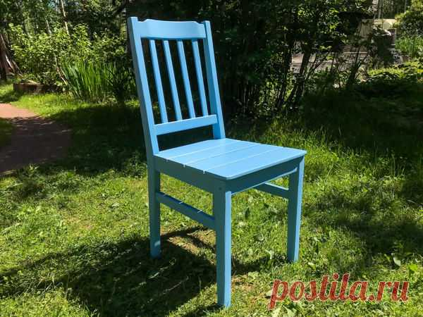 Мастер-класс : Реставрация старого стула своими руками