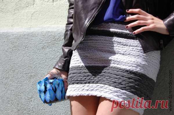 Заплетаем косы (DIY) / Юбки и их переделки / Модный сайт о стильной переделке одежды и интерьера