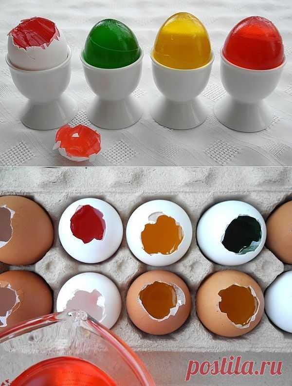 Желе-яйца на Пасху / Рецепты / Модный сайт о стильной переделке одежды и интерьера