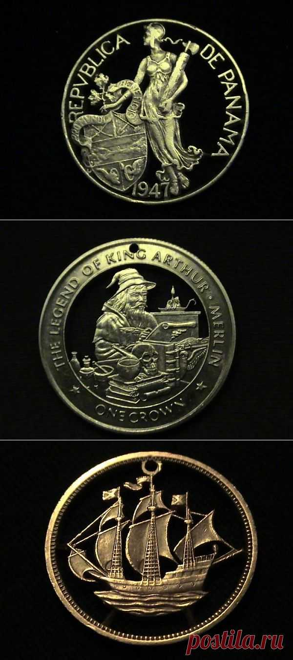 Резьба по монетам. Комментарии