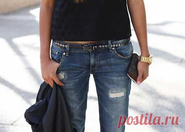 Штопка / Переделка джинсов / Модный сайт о стильной переделке одежды и интерьера