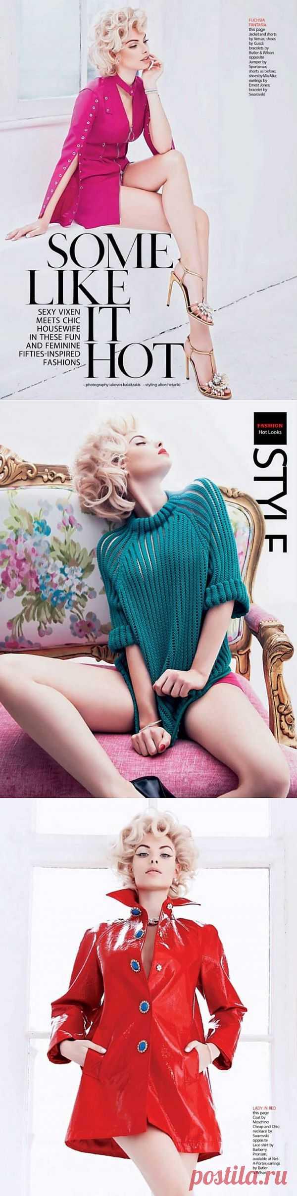 Dioni Tabbers by Iakovos Kalaitzakis for Hong Kong Tatler / Обзор журналов / Модный сайт о стильной переделке одежды и интерьера