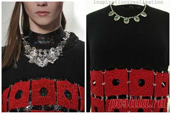 Повтор свитера Rodarte / Свитер / Модный сайт о стильной переделке одежды и интерьера