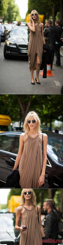 Простое-сложное платье / Помощь зала / Модный сайт о стильной переделке одежды и интерьера