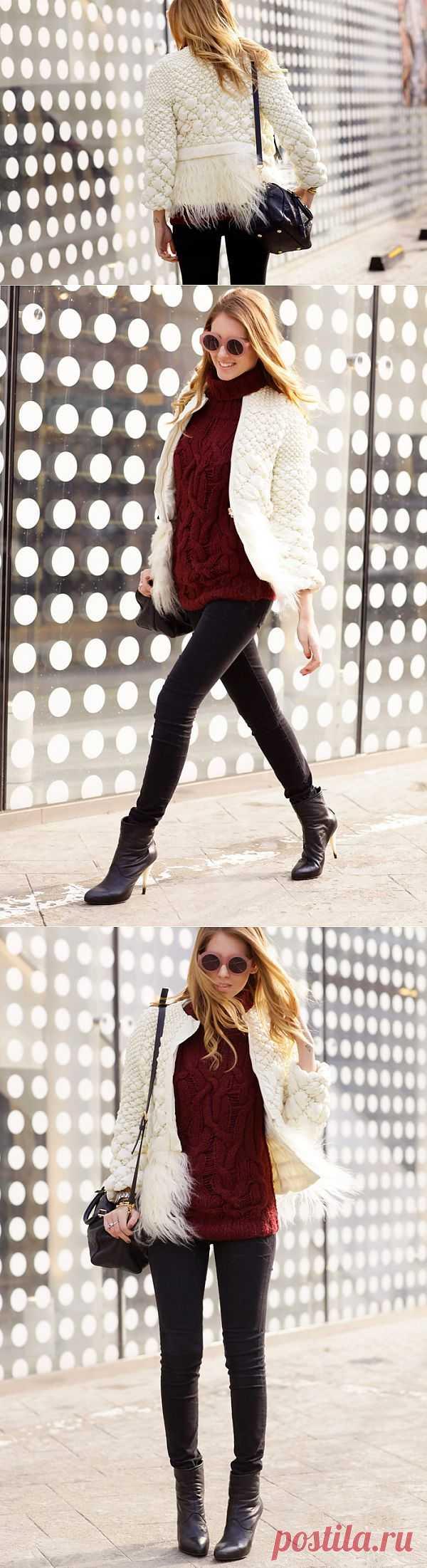 Интересно простеганная куртка / Фактуры / Модный сайт о стильной переделке одежды и интерьера