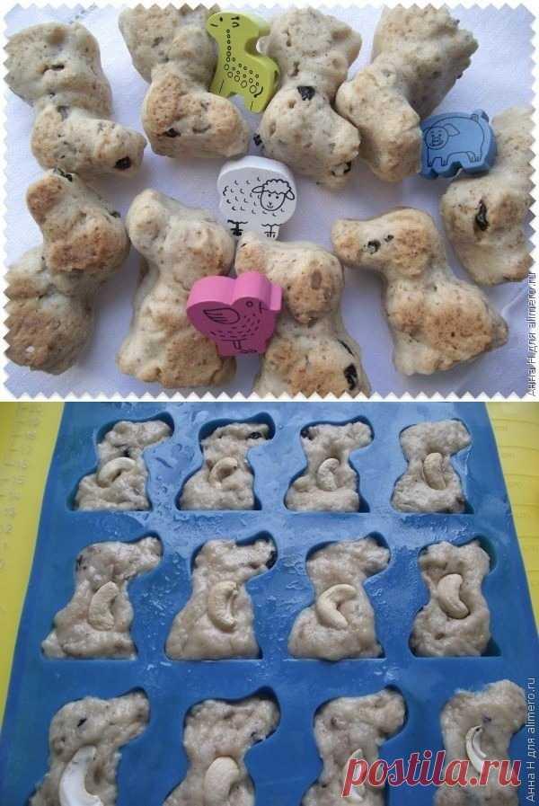 Постное печенье Собачки
