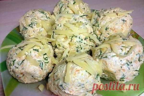 """Салат """"куриные шарики"""": очень просто, вкусно и оригинально!"""
