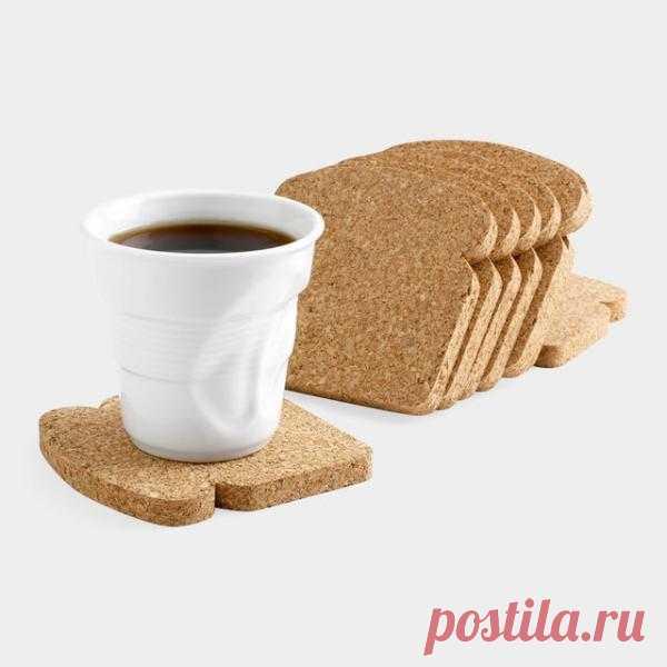 Подставка под горячие напитки в виде тоста. $15 USD