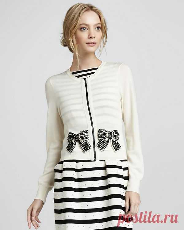 Кардиган Nanette Lepore / Декор / Модный сайт о стильной переделке одежды и интерьера
