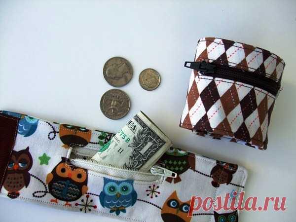 Потайной браслет-кошелек на руку   Самошвейка - сайт о шитье и рукоделии