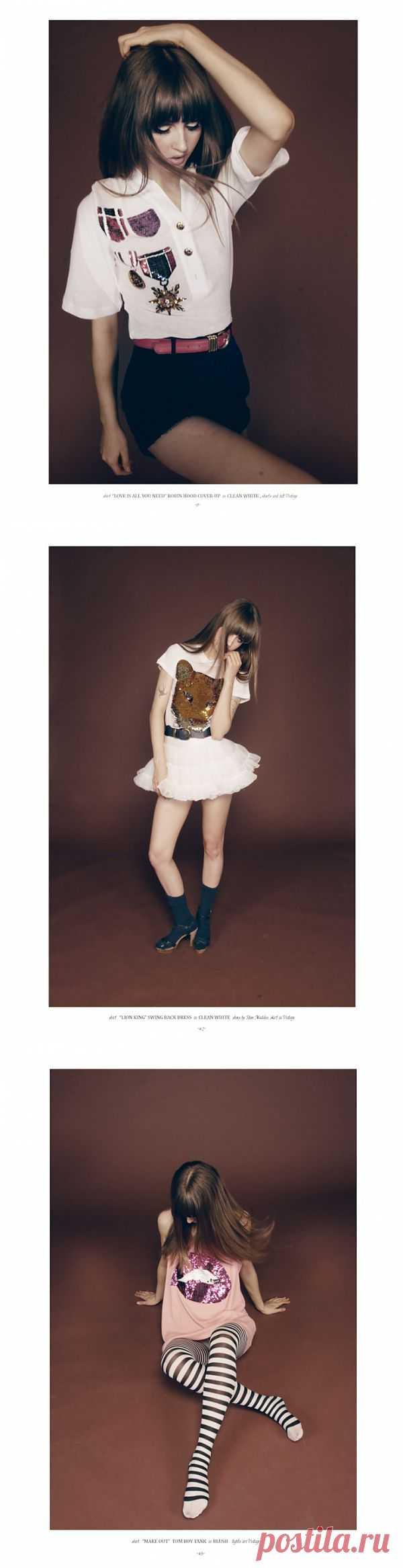 Wildfox White Label Spring 2011 (трафик) / Обзор журналов / Модный сайт о стильной переделке одежды и интерьера