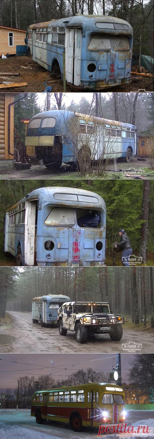 Спасение редкого автобуса ЗиС-154 от неминуемой гибели | Старый Гараж | Яндекс Дзен