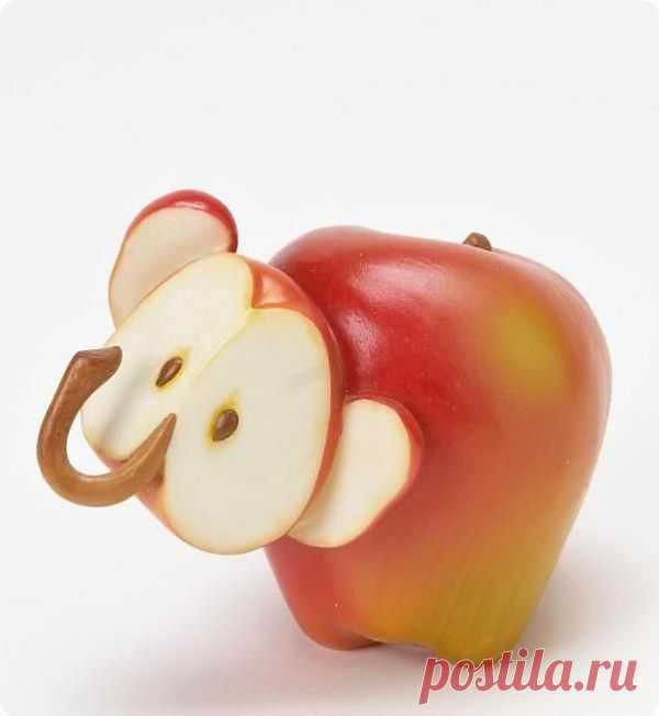 Яблочный слоник.