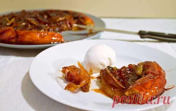 Французский Тарт Татен. Яблочный пирог с карамелью. (Рецепт по клику на картинку).