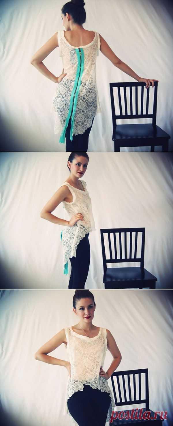 Яркий элемент / Декор спины / Модный сайт о стильной переделке одежды и интерьера