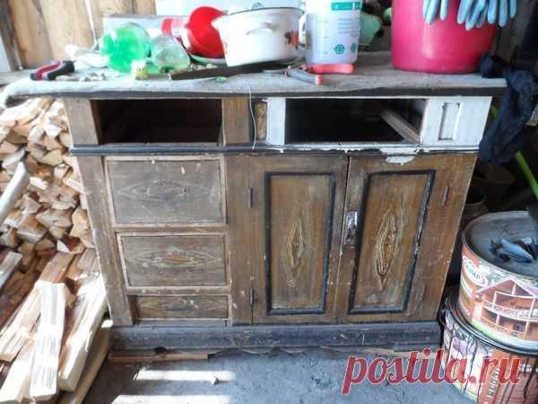 Мастер-класс : Реставрация старого письменного стола