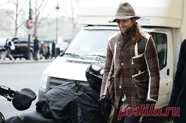 Интересный пиджак на товарище:-) / Street Style / Модный сайт о стильной переделке одежды и интерьера
