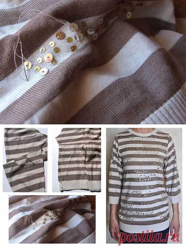 Мужской кофт. Переделка. / Свитер / Модный сайт о стильной переделке одежды и интерьера