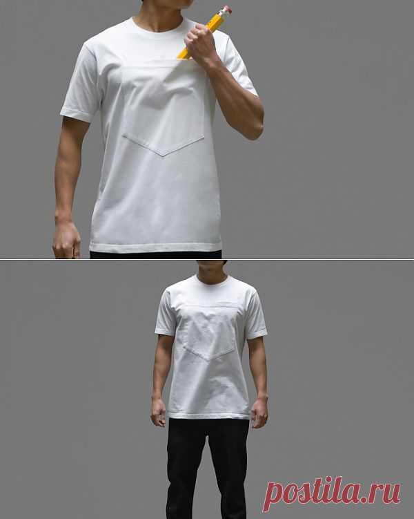 Кармашище для карандашища / Футболки DIY / Модный сайт о стильной переделке одежды и интерьера
