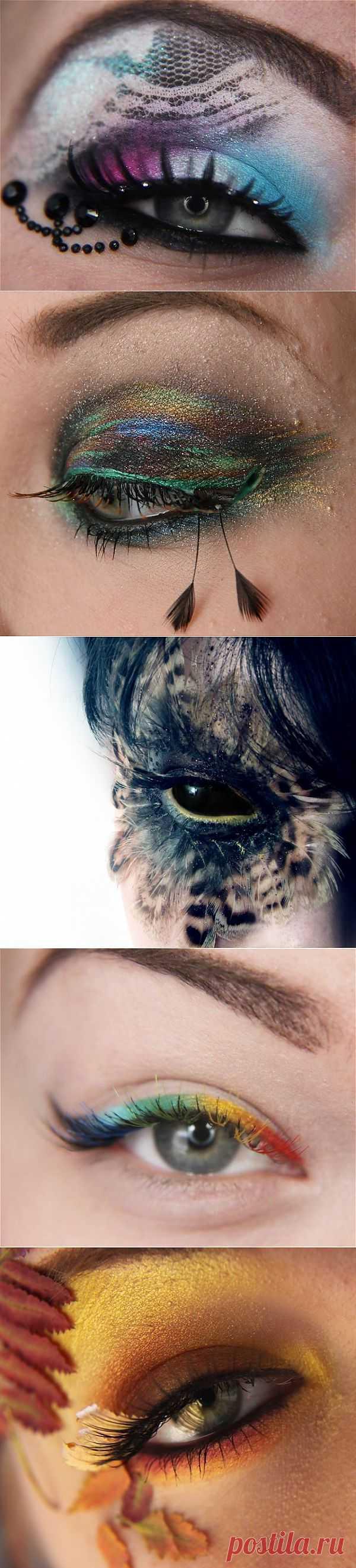 Фантастический макияж от Jangsara / Макияж/Маникюр / Модный сайт о стильной переделке одежды и интерьера