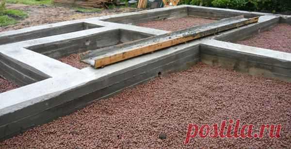 Фундамент для дома из газобетонных блоков. Деревянные и брусовые дома 2015