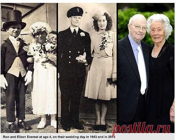 70 лет в браке: всю жизнь рука об руку