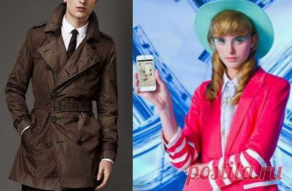 Умная одежда: плащ с 4G и навигационный пиджак