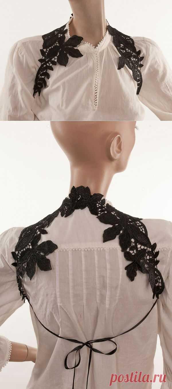 Кружево на плечи / Аксессуары (не украшения) / Модный сайт о стильной переделке одежды и интерьера