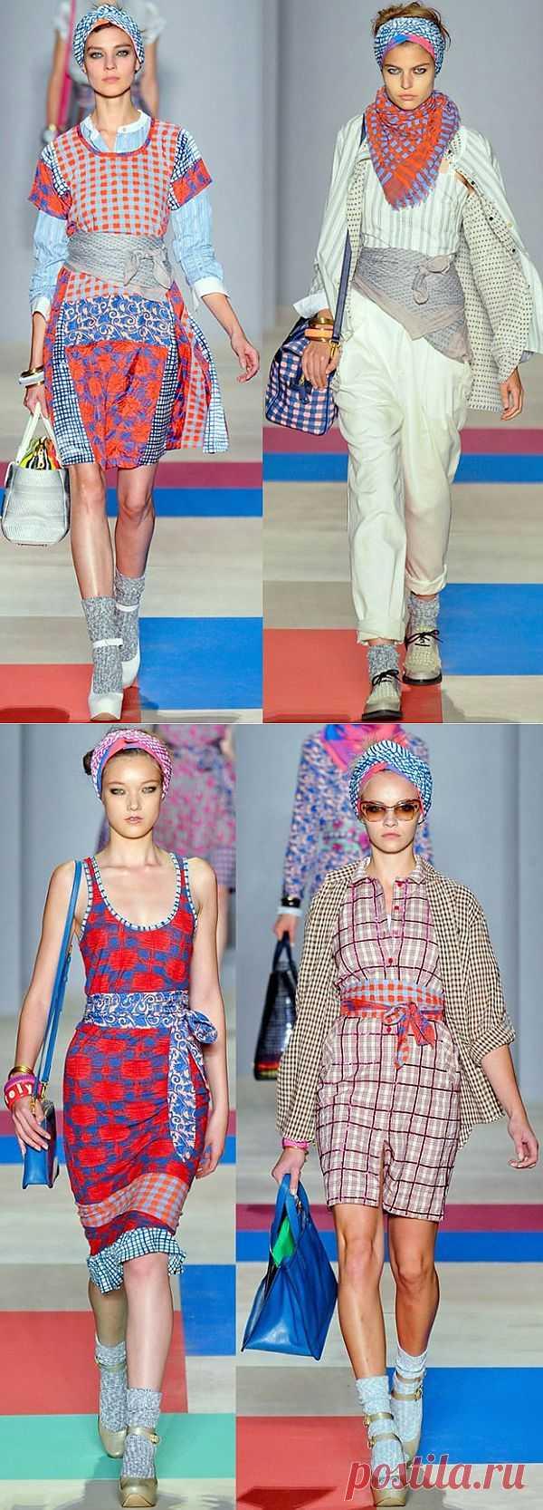 Платки вместо ремней / Платки / Модный сайт о стильной переделке одежды и интерьера