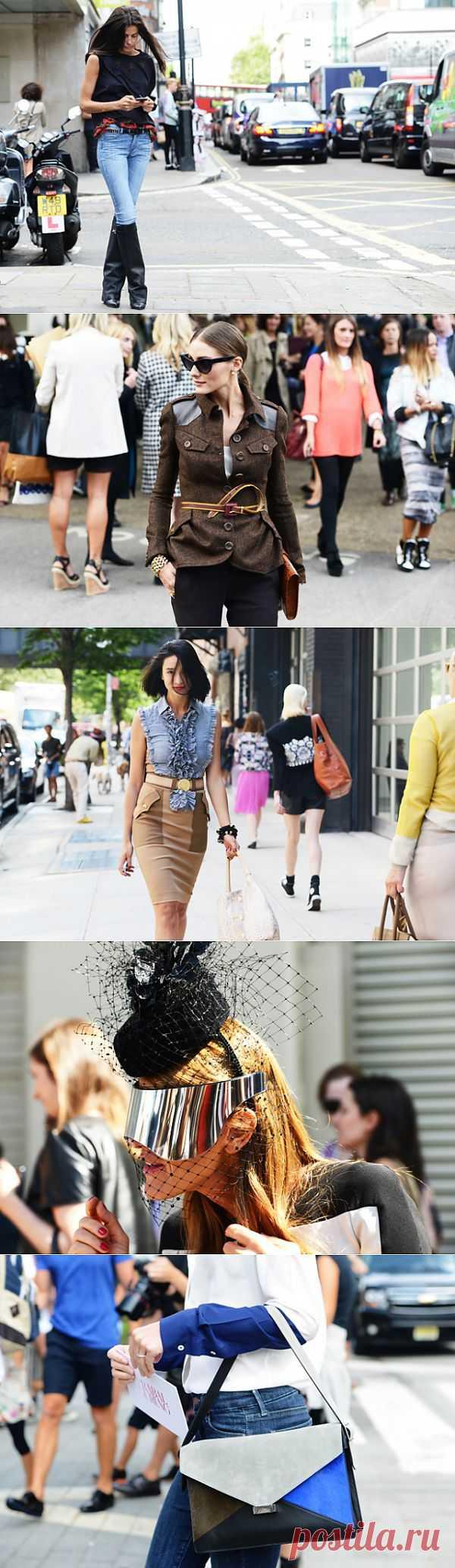 Идеи с улиц (трафик) / Street Style / Модный сайт о стильной переделке одежды и интерьера