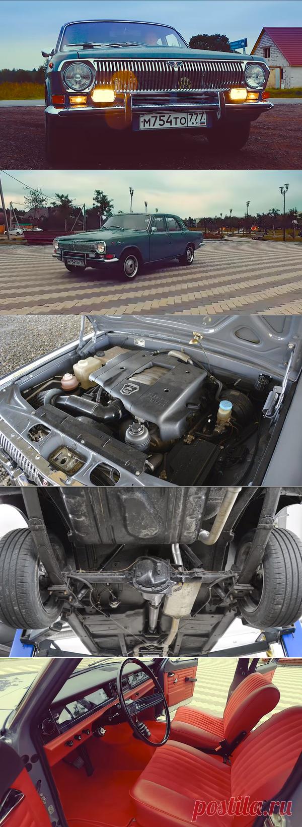 Мужик превратил Газ-24 в роскошное авто с V8 под капотом | Старый Гараж | Яндекс Дзен