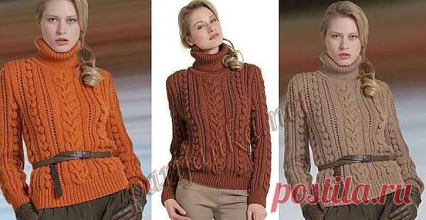 Пуловер (ж) 28, 29, 30*55 PHIL №1923