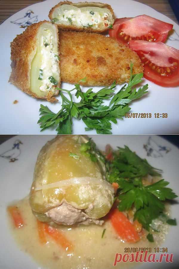 (+1) - Перец фаршированный «Чушка - бюрек» и перец обжаренный обычный   Любимые рецепты