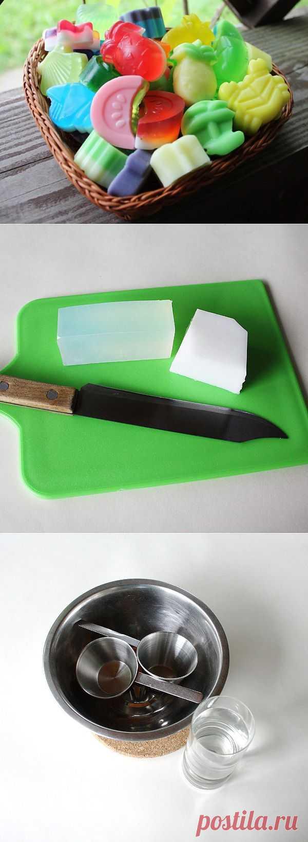 (+1) - «С пользой для тела»: делаем мыло | Хвастуны и хвастушки