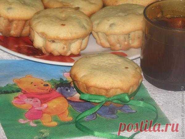 Творожные кексы с изюмом и курагой / Рецепты с фото
