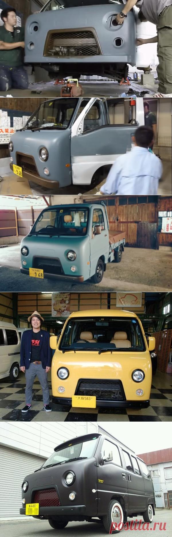 Как в Японии копируют УАЗ «Буханку» | Старый Гараж | Яндекс Дзен
