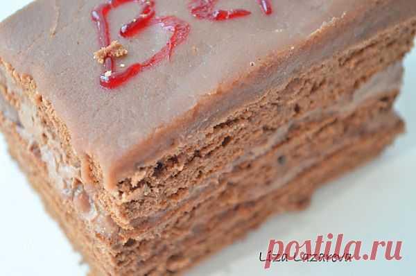 """MY FOOD или проверено Лизой: Австрийское шоколадное пирожное """"Вена"""" Автор: Елизавета Лазарева"""