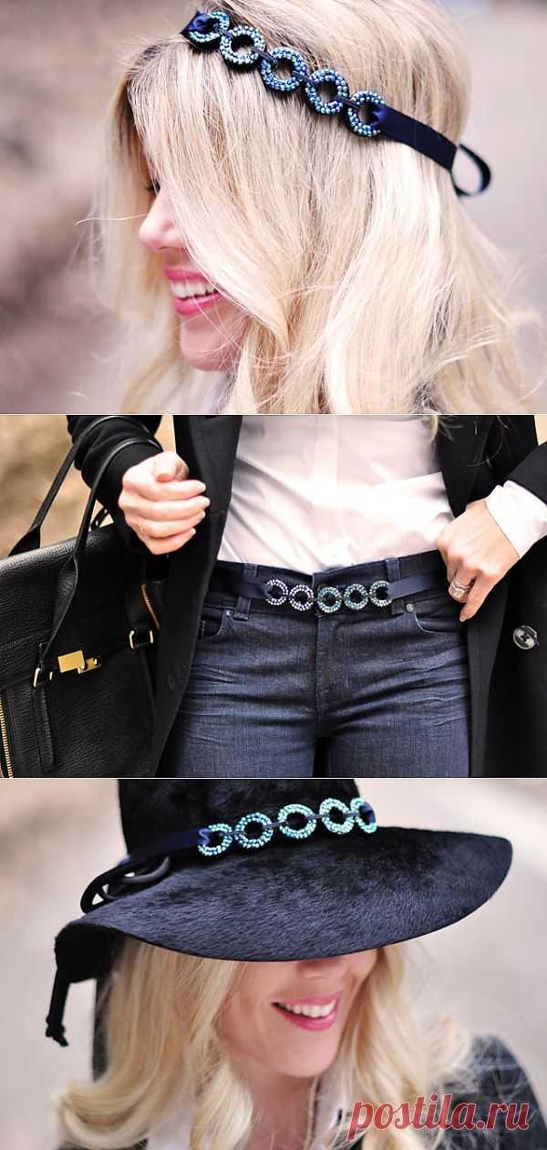 Многофункциональное украшение (мастер-класс) / Украшения и бижутерия / Модный сайт о стильной переделке одежды и интерьера