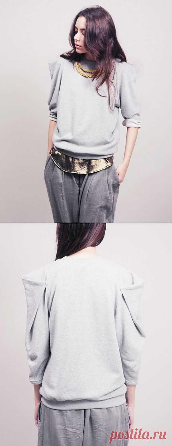 Заверните два / Худи / Модный сайт о стильной переделке одежды и интерьера