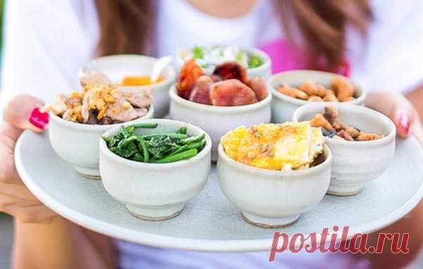 Дробный рацион питания для похудения на неделю - Полезные советы красоты