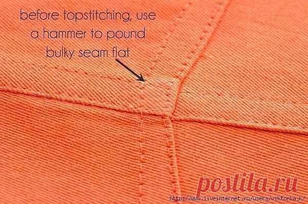 Особенности битья ткани молотком