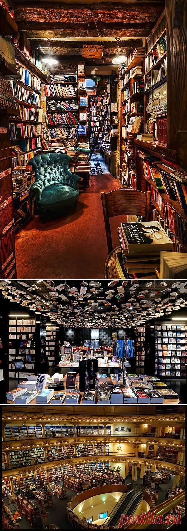 Самые интересные книжные магазины / Дизайн интерьера / Архимир