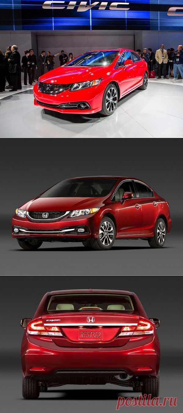 Новый седан Honda Civic.