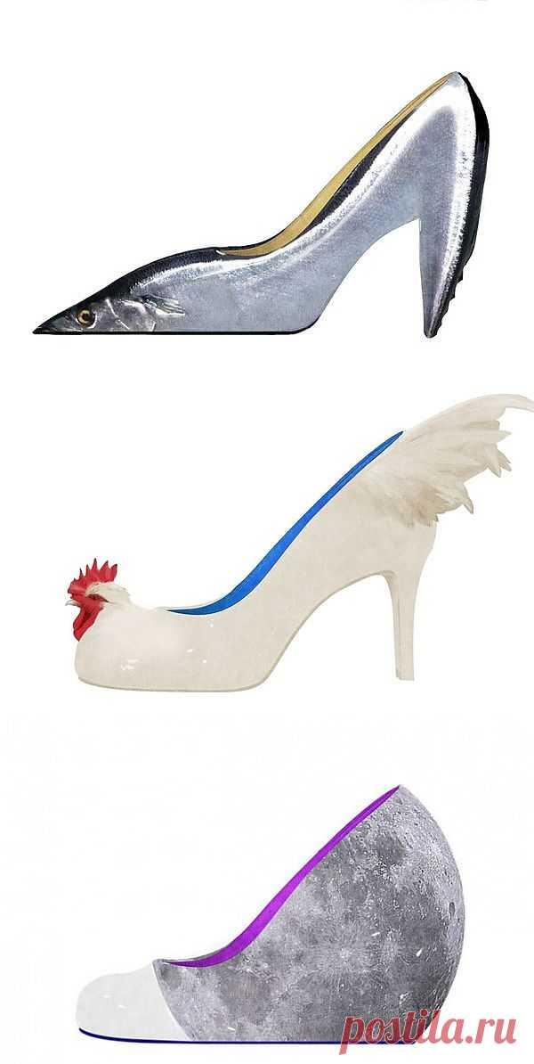 Обувные страсти (трафик) / Креатив / Модный сайт о стильной переделке одежды и интерьера