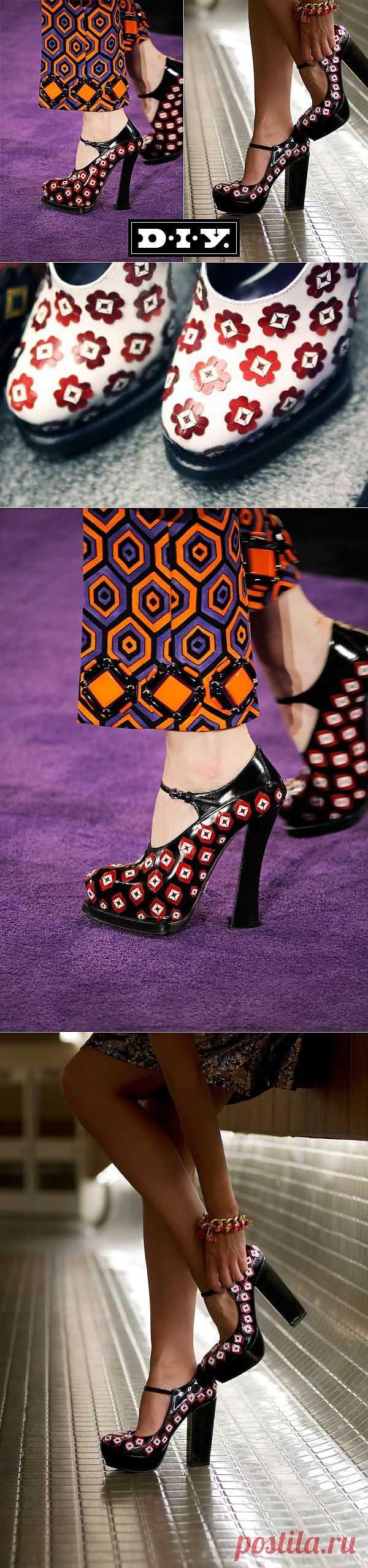 Прада будет рада! (DIY) / Обувь / Модный сайт о стильной переделке одежды и интерьера