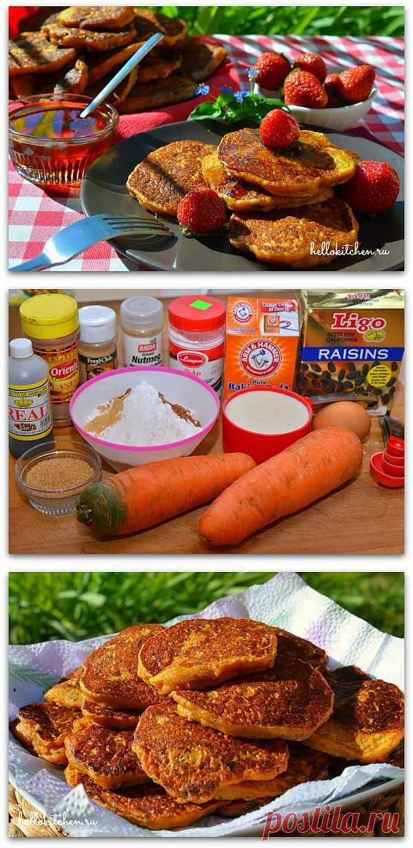 Морковные блинчики. Изумительный вариант завтрака для детей и взрослых!