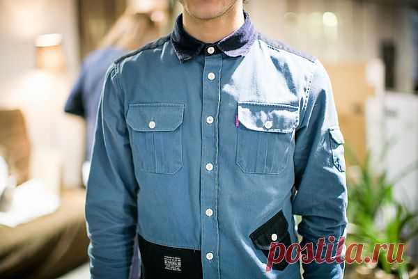 Мужская рубашка / Мужская мода / Модный сайт о стильной переделке одежды и интерьера