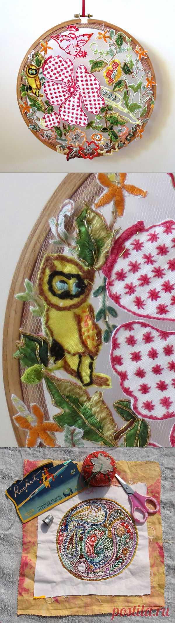 Вышивка на пяльцах (подборка) / Вышивка / Модный сайт о стильной переделке одежды и интерьера