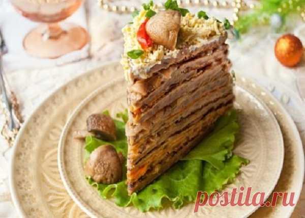 Печеночный торт — Кулинарная страничка