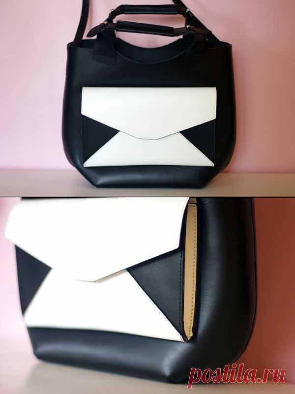 Сумка с конвертом / Сумки, клатчи, чемоданы / Модный сайт о стильной переделке одежды и интерьера